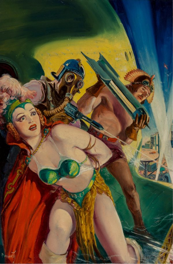 Spicy-Adventure Stories magazine cover, December 1940