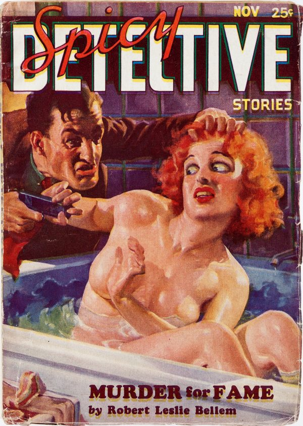 Spicy Detective Stories - November 1934