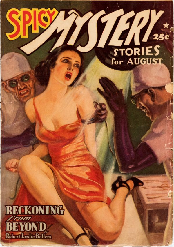 Spicy Mystery - August 1939