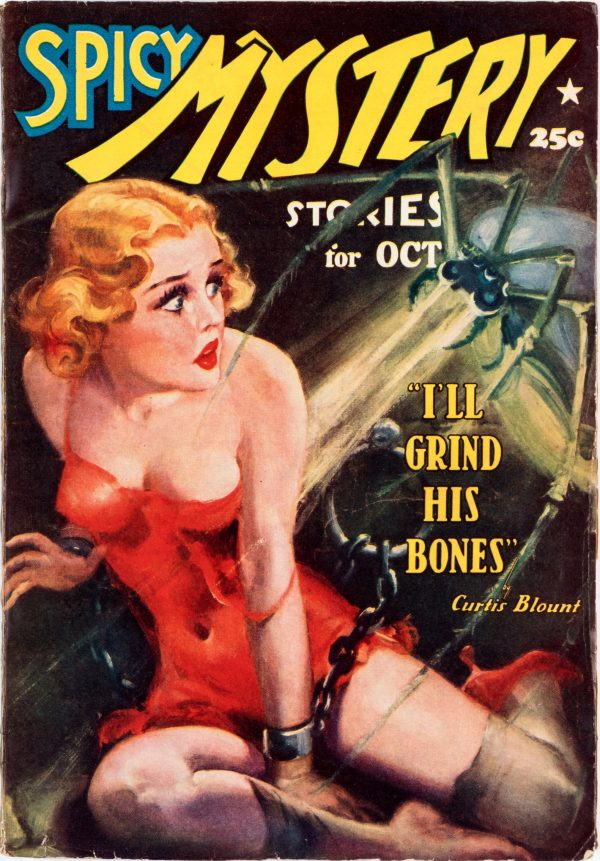 Spicy Mystery - October 1937