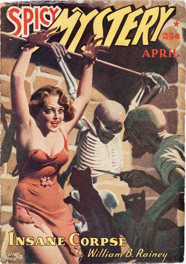 Spicy Mystery Stories - April 1940
