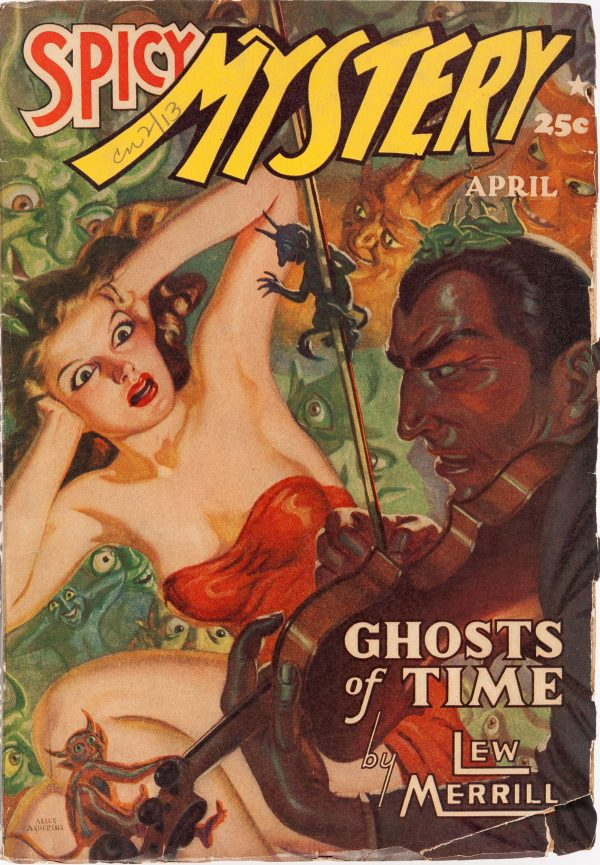 Spicy Mystery Stories - April 1941