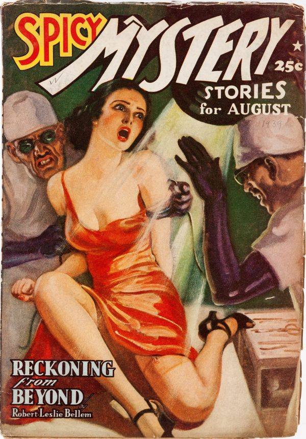 Spicy Mystery Stories - August 1939
