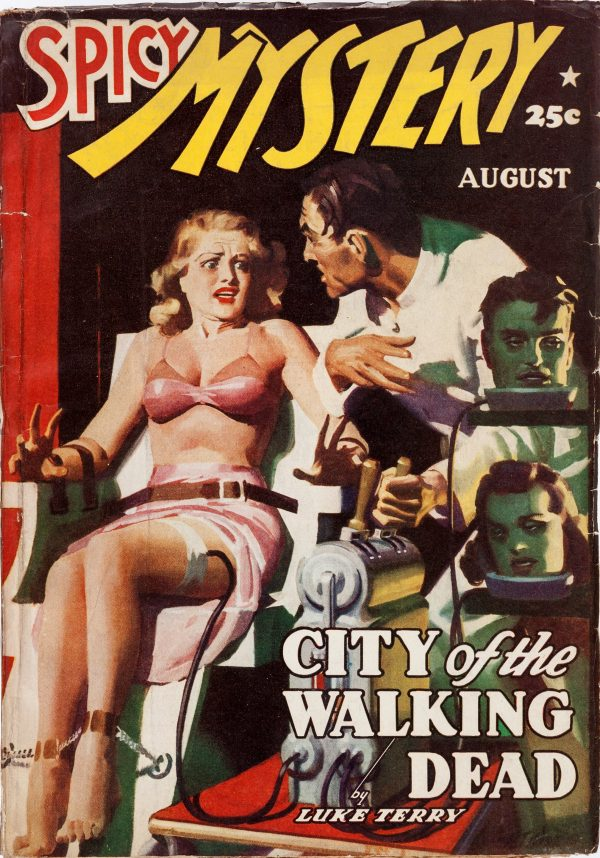 Spicy Mystery Stories - August 1940
