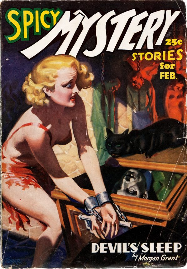 Spicy Mystery Stories - February 1937