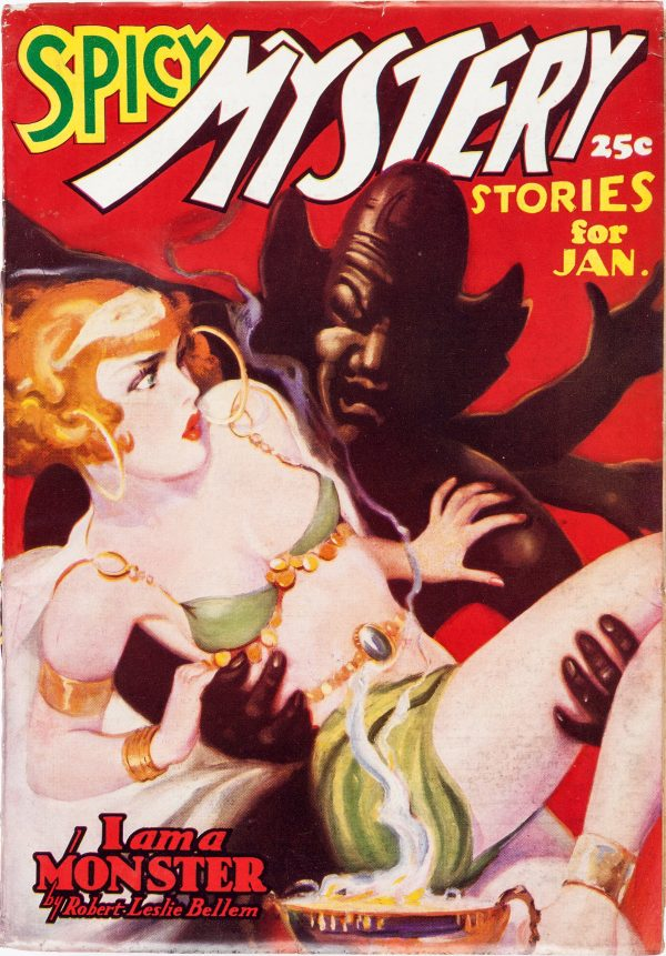Spicy Mystery Stories - January 1937
