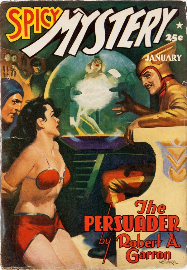 Spicy Mystery Stories - January 1941