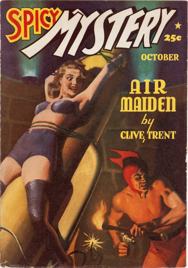 Spicy Mystery Stories - October 1940
