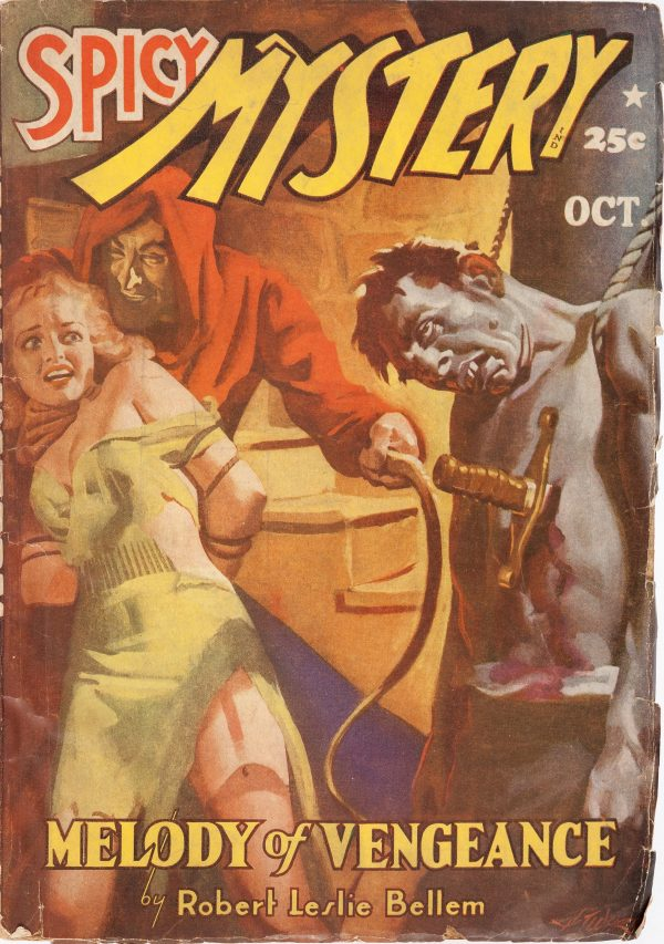 Spicy Mystery Stories - October 1941