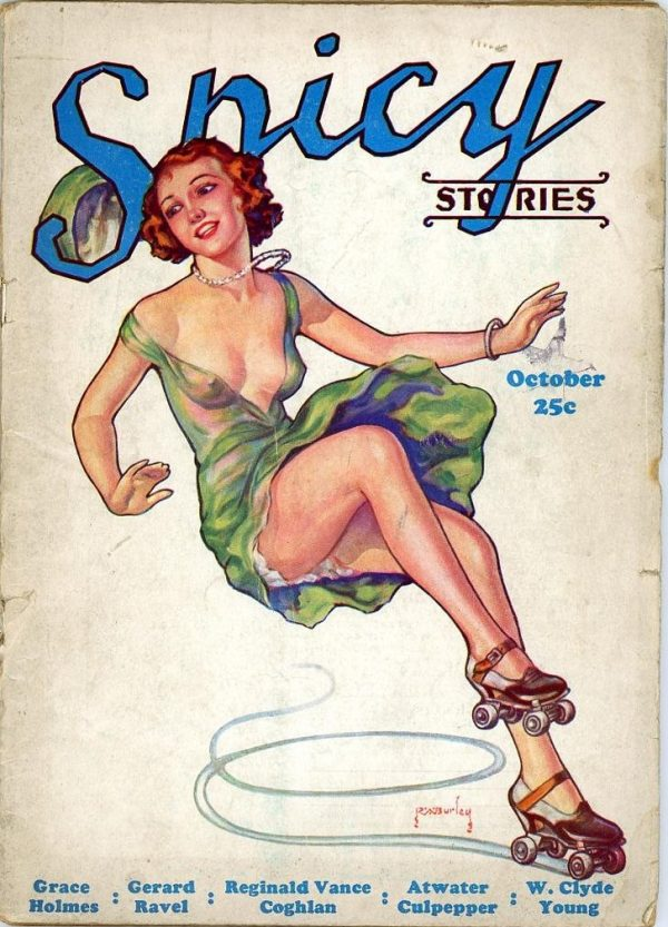 Spicy Stories Magazine October 1933