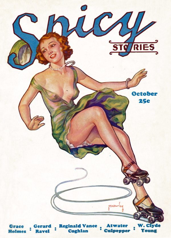 Spicy Stories October 1933