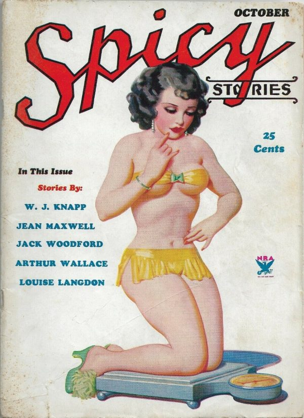 Spicy Stories October 1934