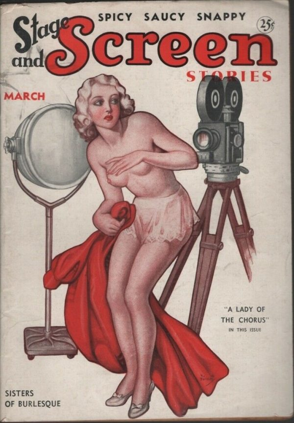 Stage and Screen Stories 1936 March
