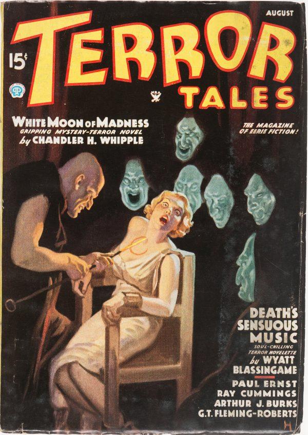 Terror Tales Magazine - August 1935