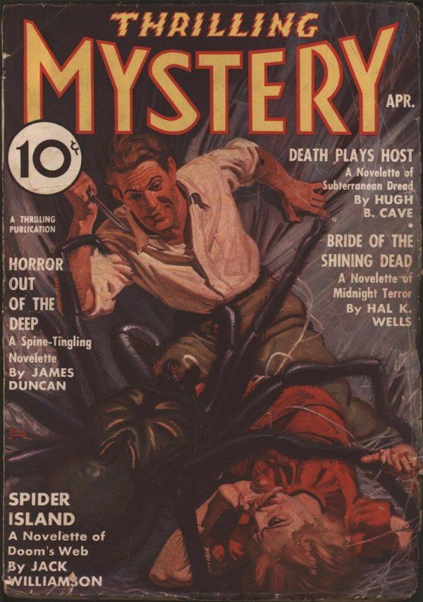 Thrilling Mystery Magazine 1937 April