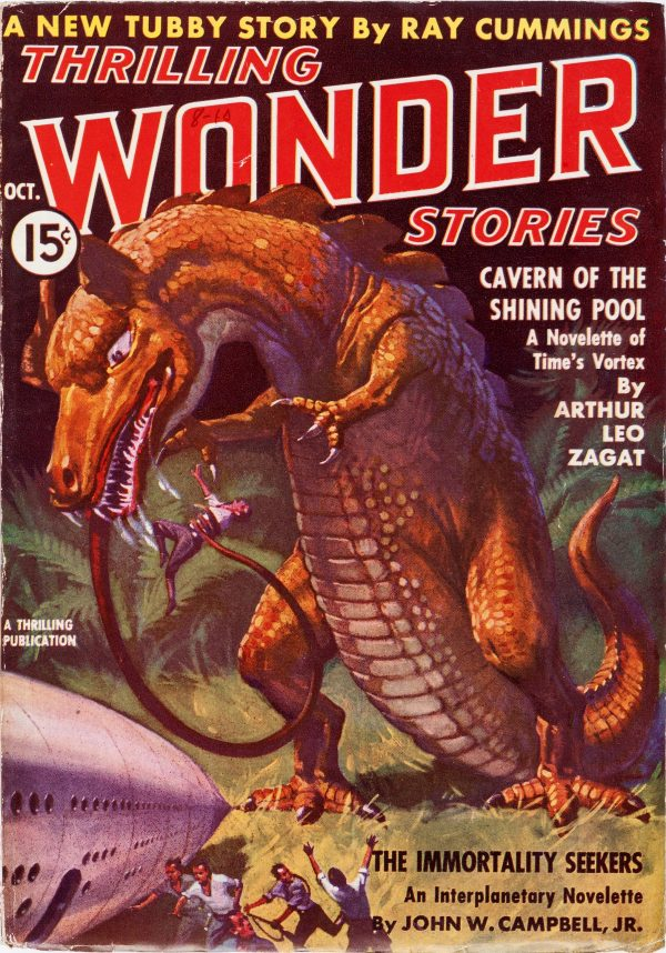Thrilling Wonder Stories October 1937