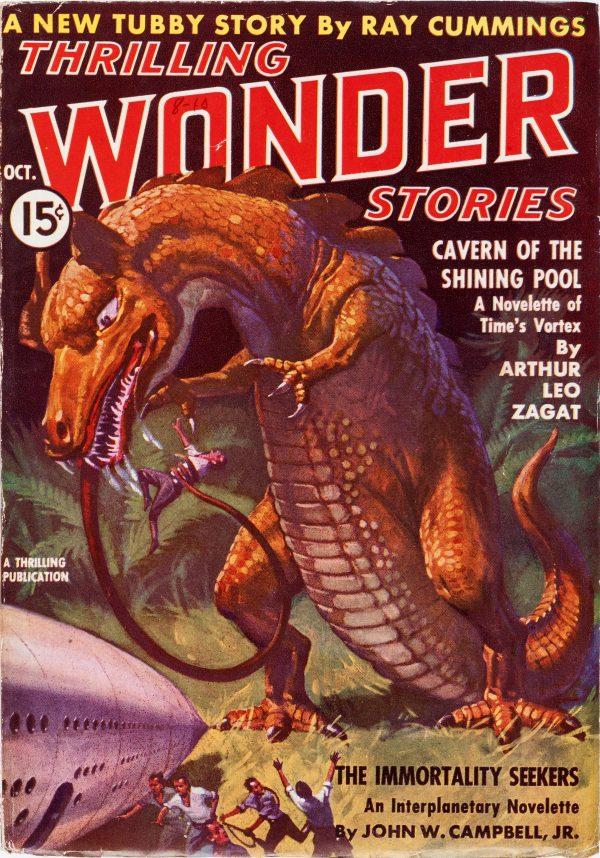 Thrilling Wonder Stories October 1937