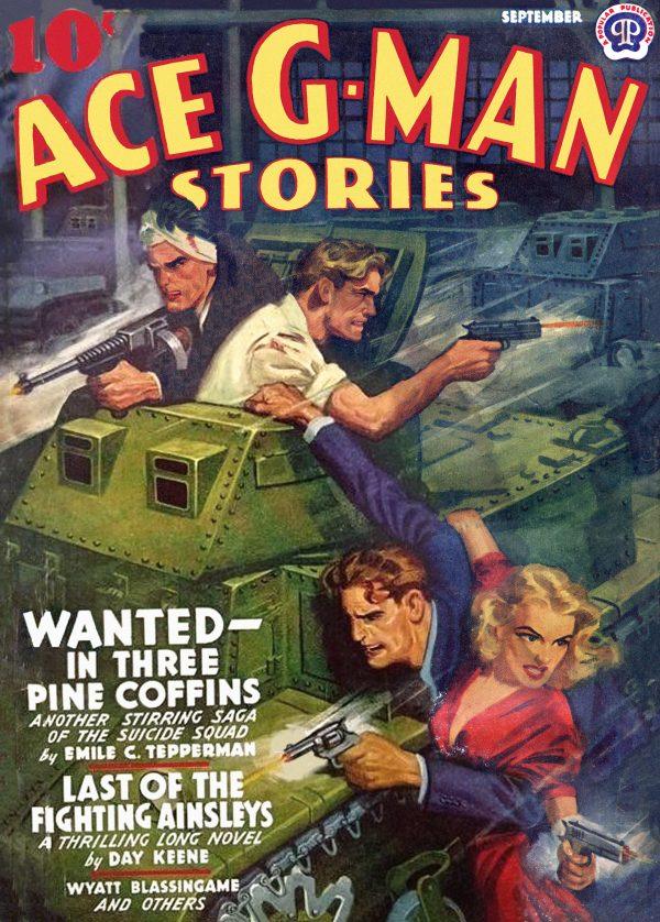 Ace G-Man September 1941