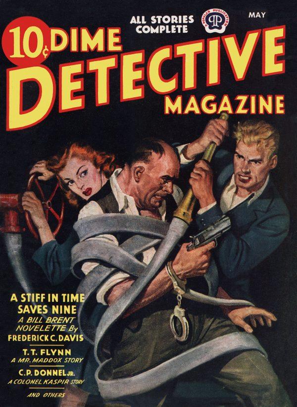 Dime Detective Magazine, May 1944
