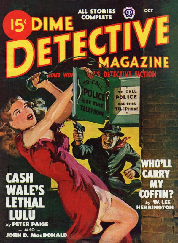 Dime Detective, October 1948