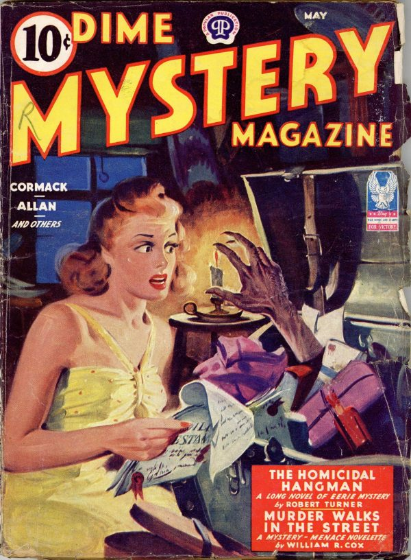Dime Mystery Magazine May 1943
