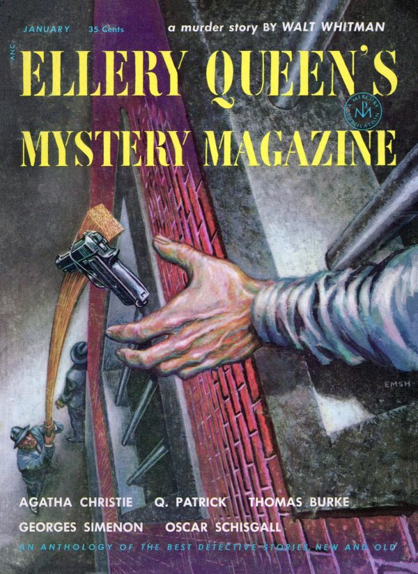 Ellery Queen's Mystery Magazine January 1954