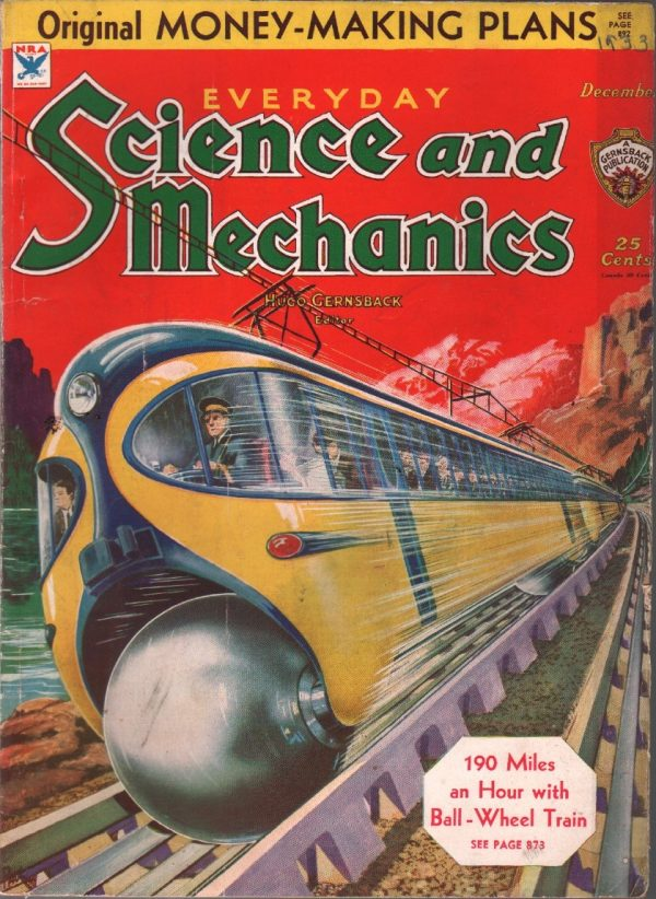 Everyday Science And Mechanics December 1933