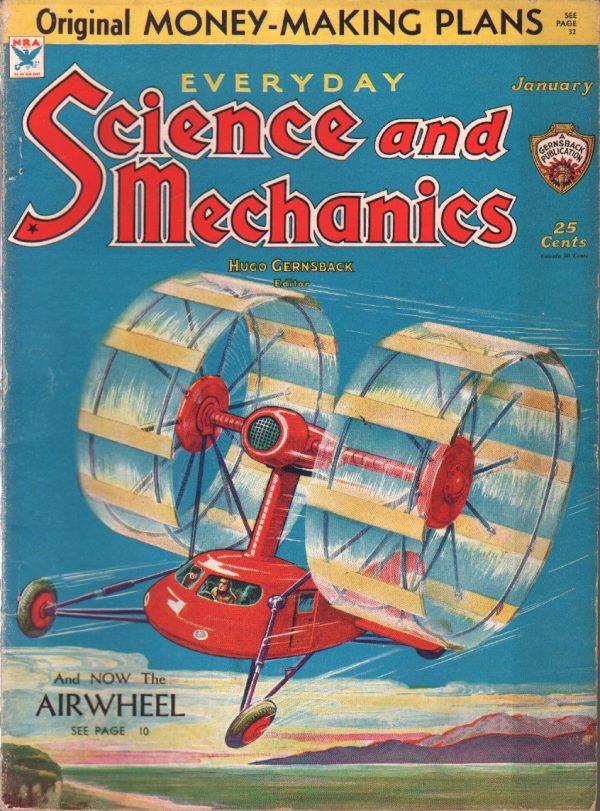 Everyday Science And Mechanics January 1934
