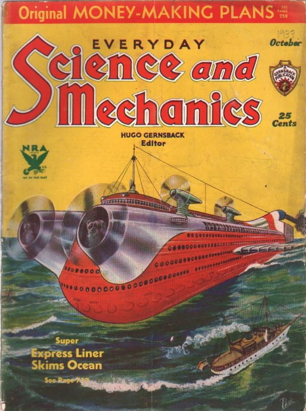 Everyday Science And Mechanics October 1933