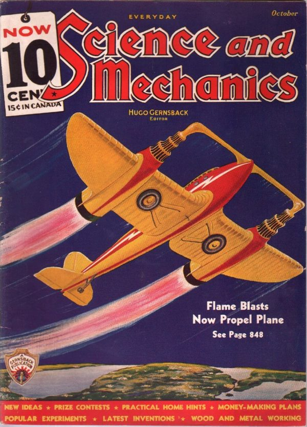 Everyday Science And Mechanics October 1935
