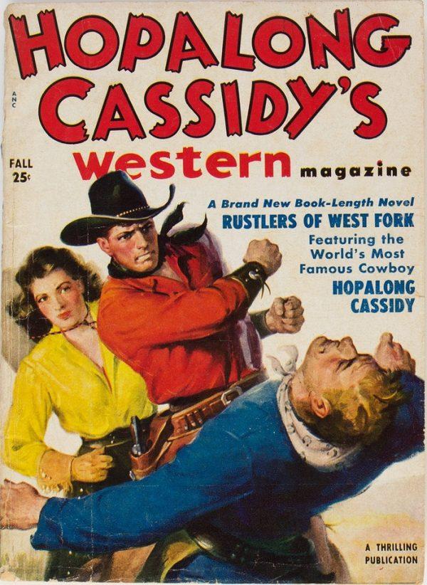 Hopalong Cassidy's Western Magazine V1#1 Fall 1950