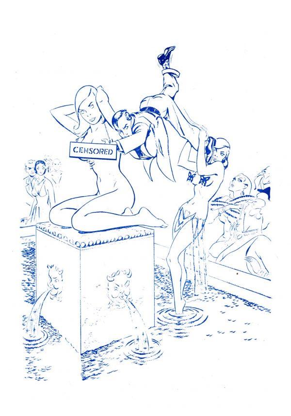 Imaginative Tales September 1954 IC