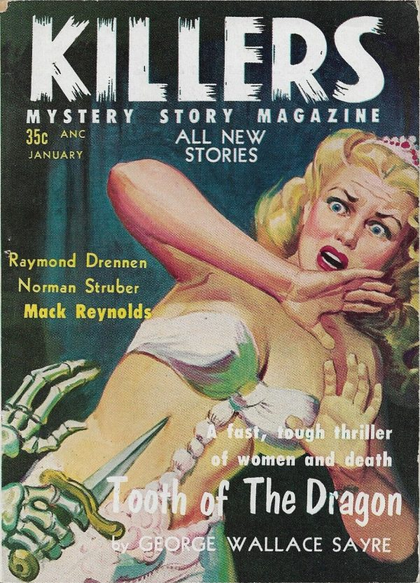 Killers Mystery Story Magazine January 1957