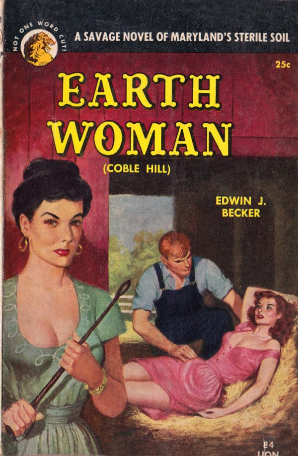 Lion Books No. 84 - Earth Woman by Edwin J. Becker, 1952