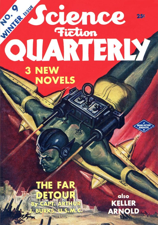 Science Fiction Quarterly Winter 1942