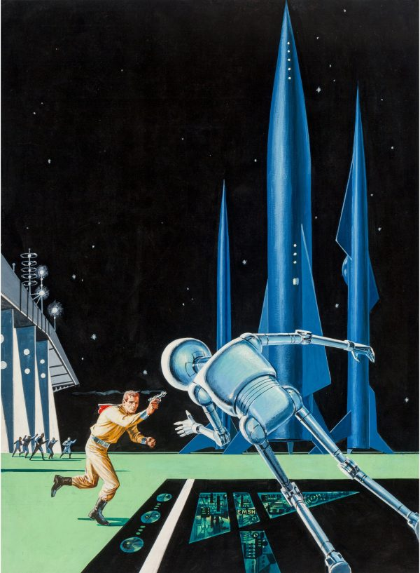 Stepsons of Terra by Robert Silverberg (Ace Books, 1958)