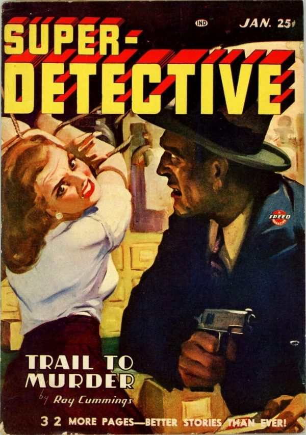 Super-Detective, January 1947
