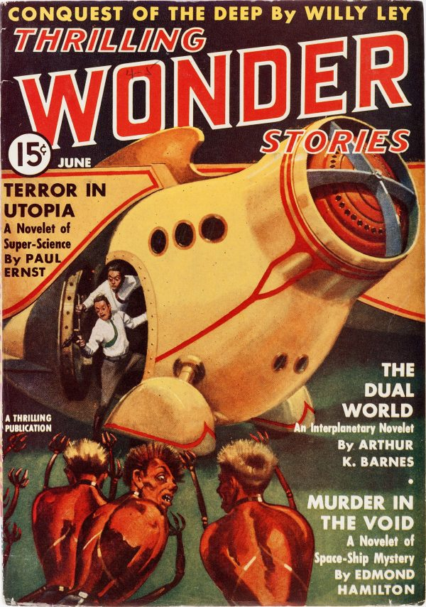 Thrilling Wonder Stories - June 1938