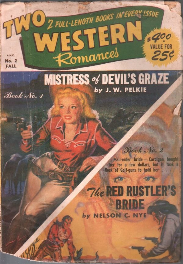 Two Western Romances Fall 1950