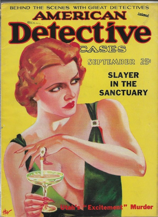 American Detective Cases September 1936