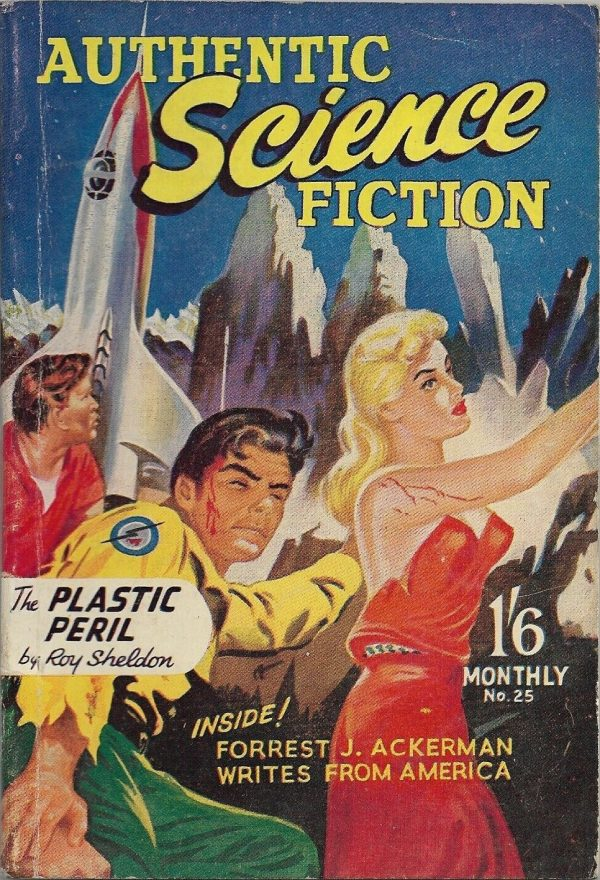 Authentic Science Fiction #25, 1954