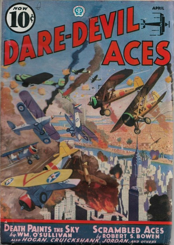 Dare-Devil Aces April 1937