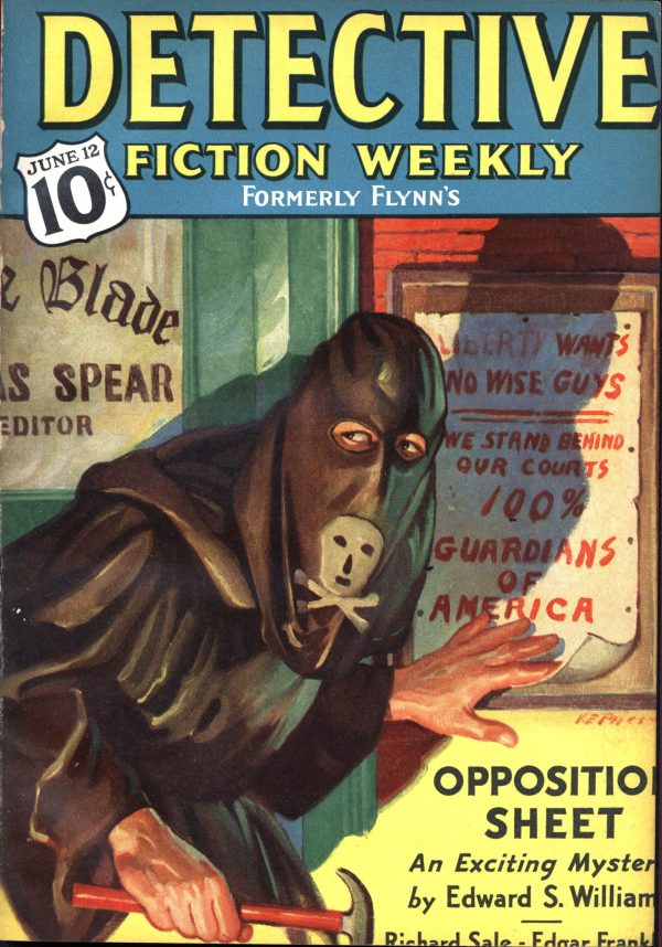Detective Fiction Weekly June 12, 1937