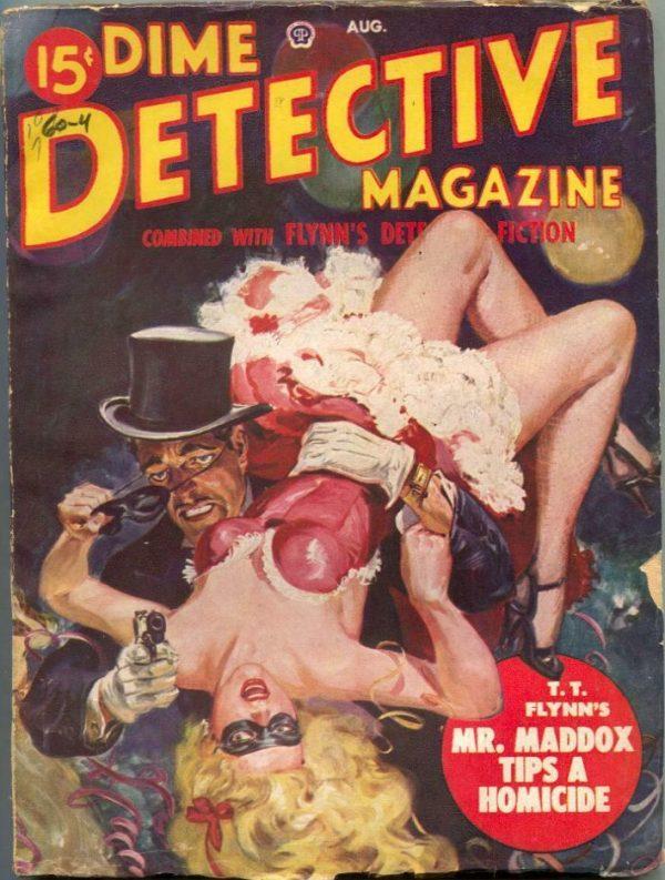 Dime Detective August 1949