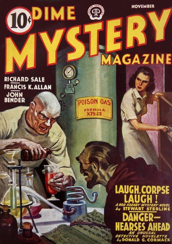Dime Mystery November 1941