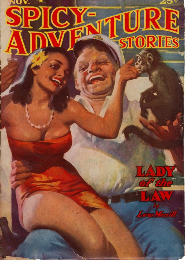 Spicy Adventure Stories - November 1938