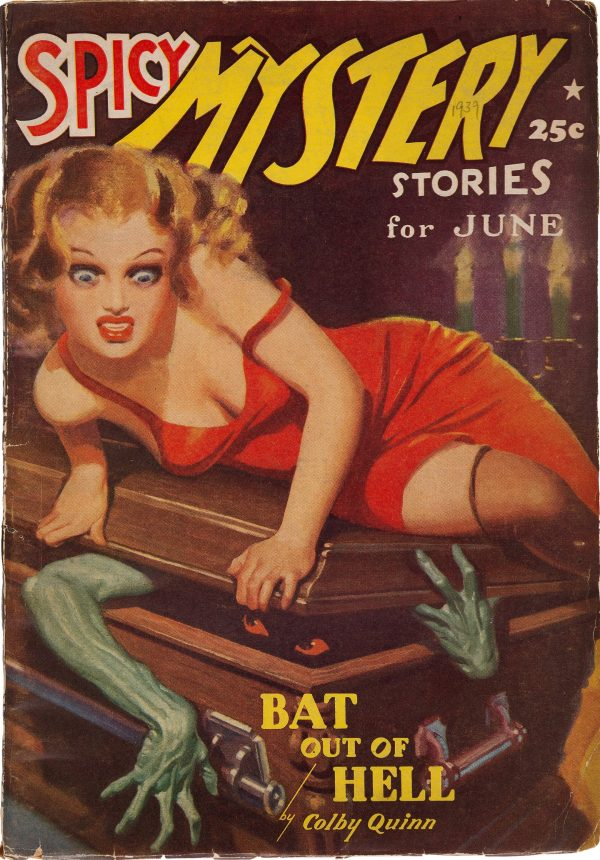 Spicy Mystery Stories, June 1939