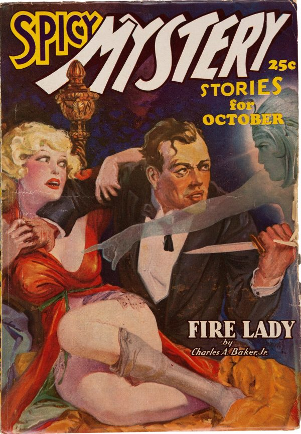 Spicy Mystery Stories - October 1936