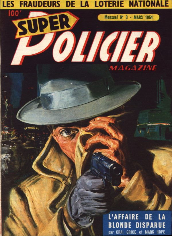 Super Policier Magazine March 1954