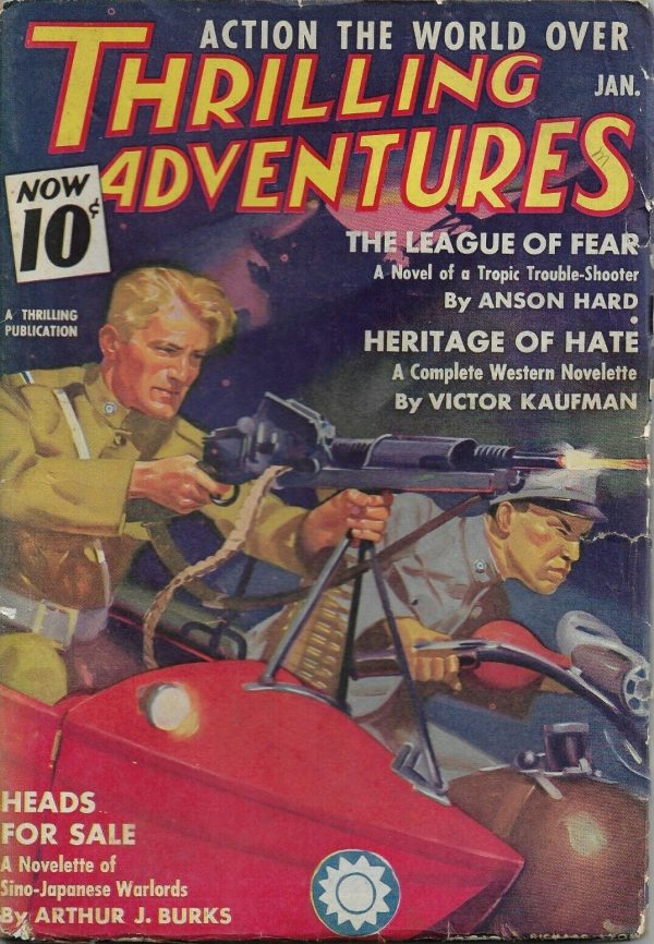 Thrilling Adventures January 1938